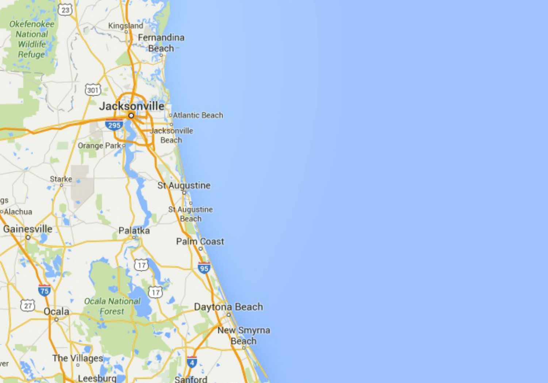Northeast Florida Beaches Map.Maps Of Florida Orlando Tampa Miami Keys And More