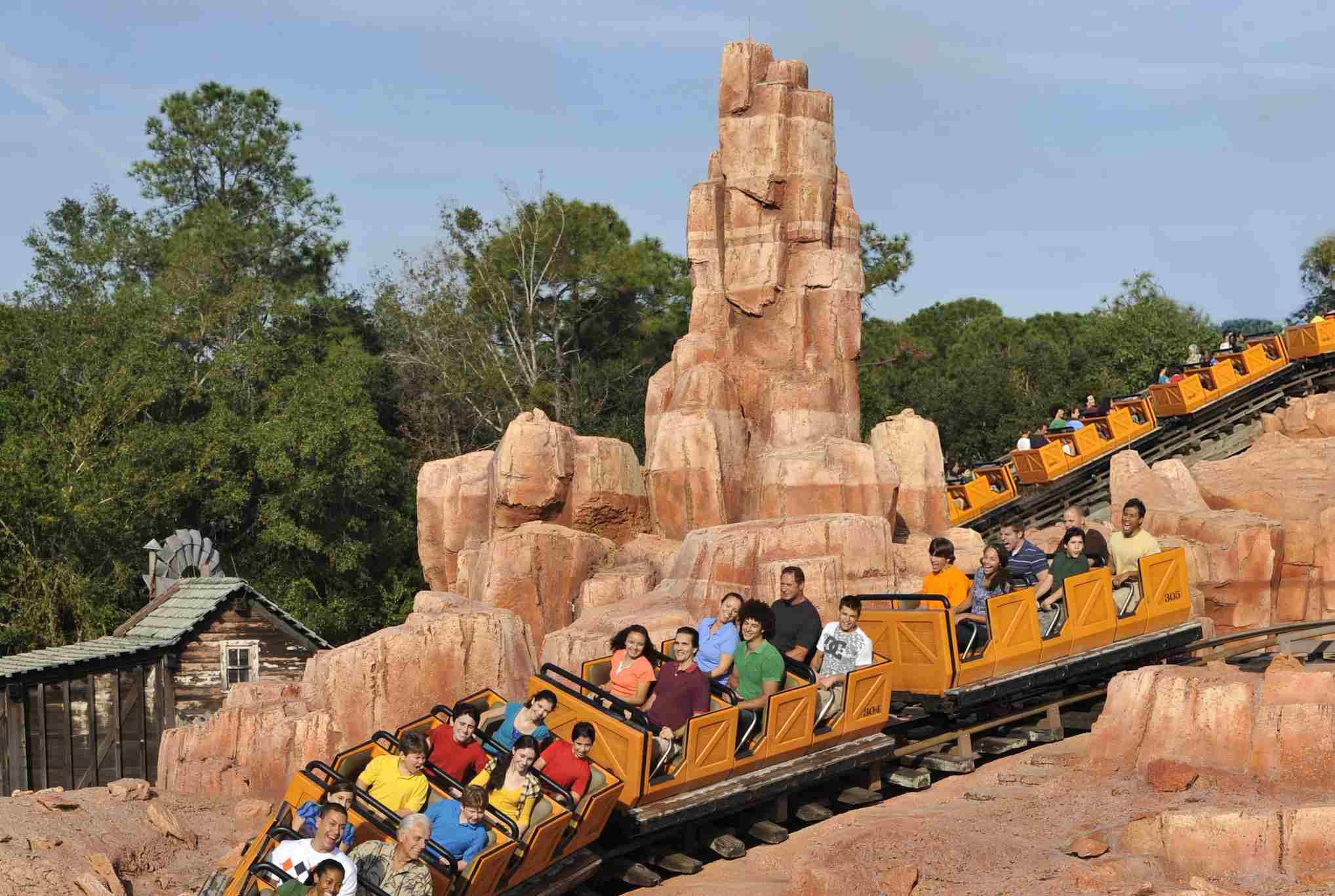 Walt Disney World's Big Thunder Mountain Railroad