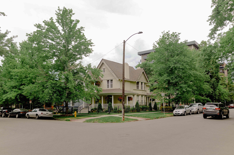 Congress Park neighborhood in Denver, Colorado