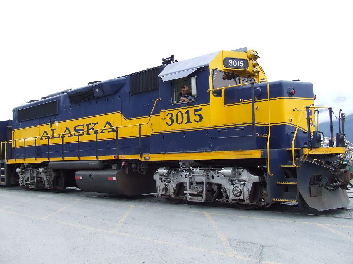 Motor de ferrocarril de Alaska