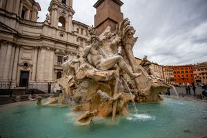 Bernini Fountains in Rome, Italy