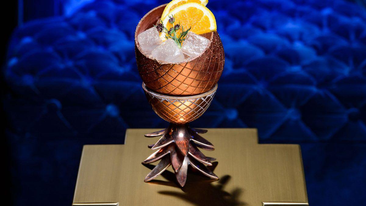 A cocktail at the Venetian Las Vegas