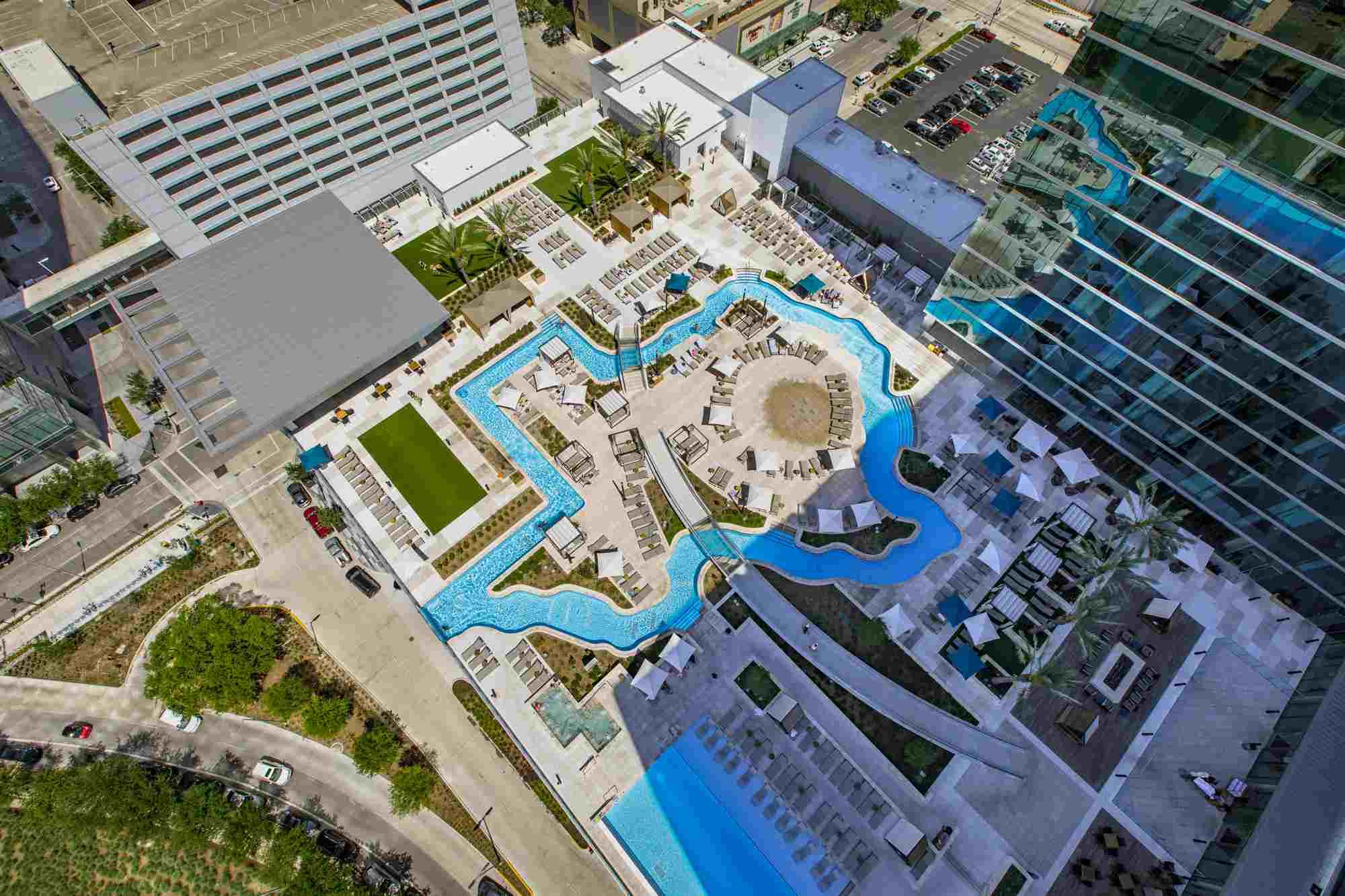 Marriott Marquis Hotel in Downtown Houston