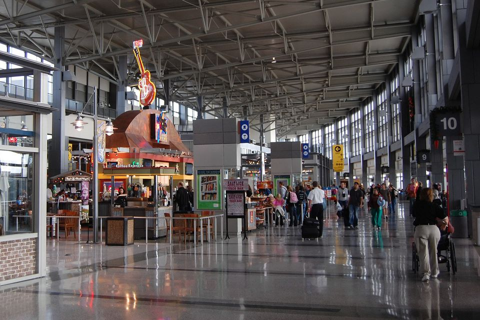 Food vendors at Austin Bergstrom International Airport