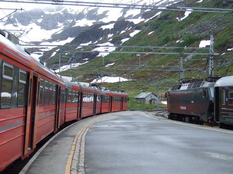 Myrdal Station on the Flam Railway
