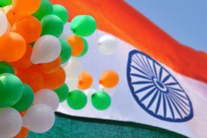 India Republic Day flag.