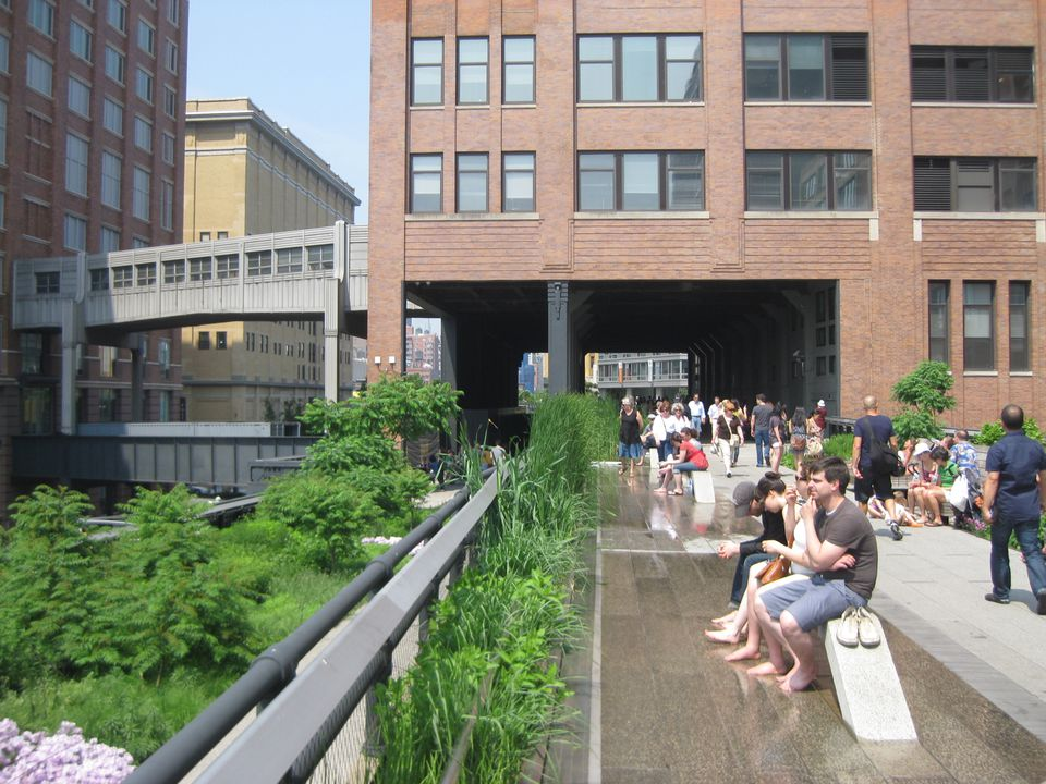 High Line Park in Chelsea