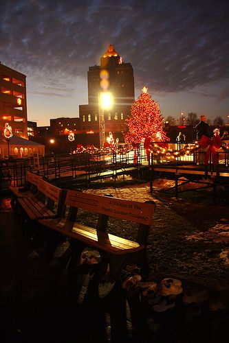 Lock 3 Park in Akron