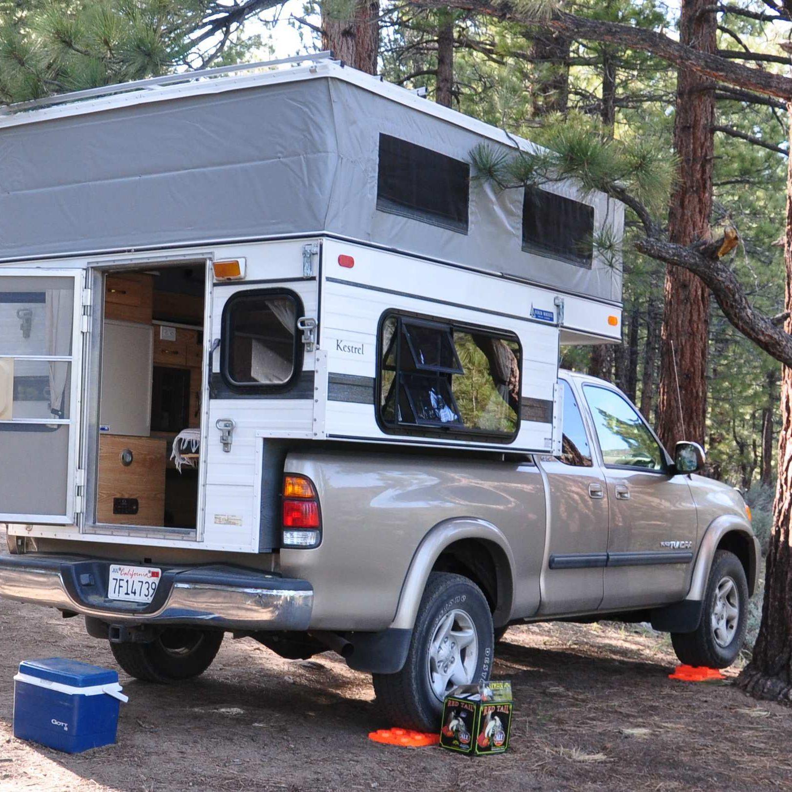 Four Wheel Pop-up Camper: Hawk (or Kestrel) Model