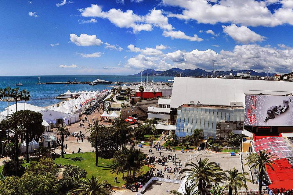 Palais des Festivals during Cannes Film Festival in Cannes, France