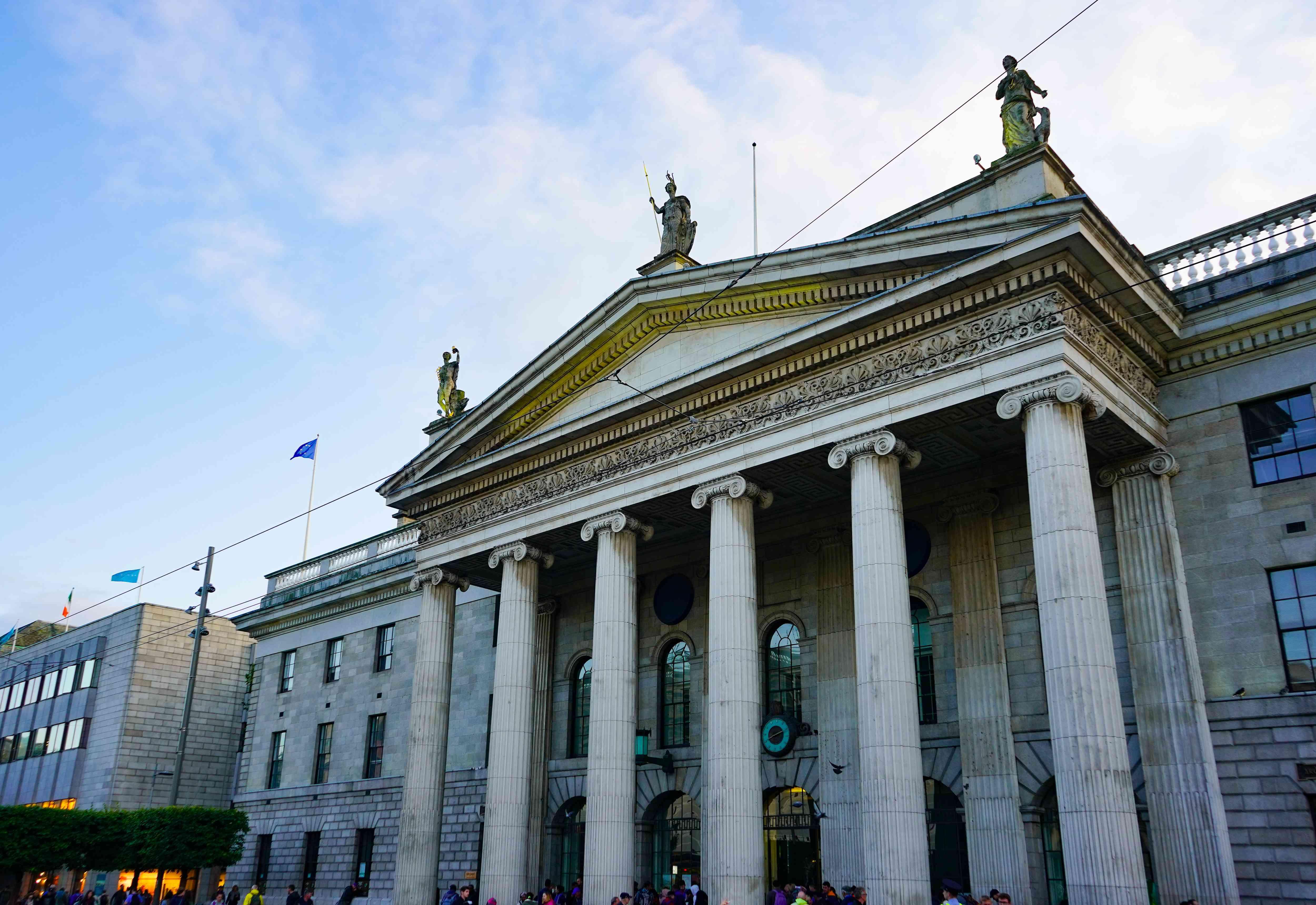General Post Office in Dublin, Ireleand