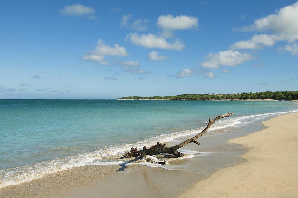 Natadola Beach Viti Levu Island Fiji