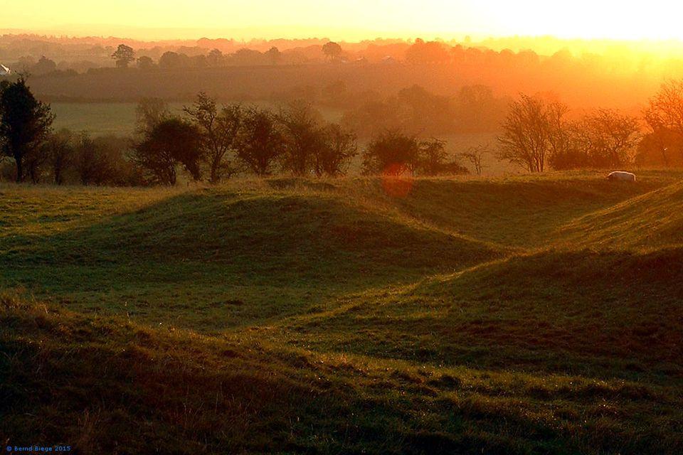 Sunrise at Tara - magic on any day.