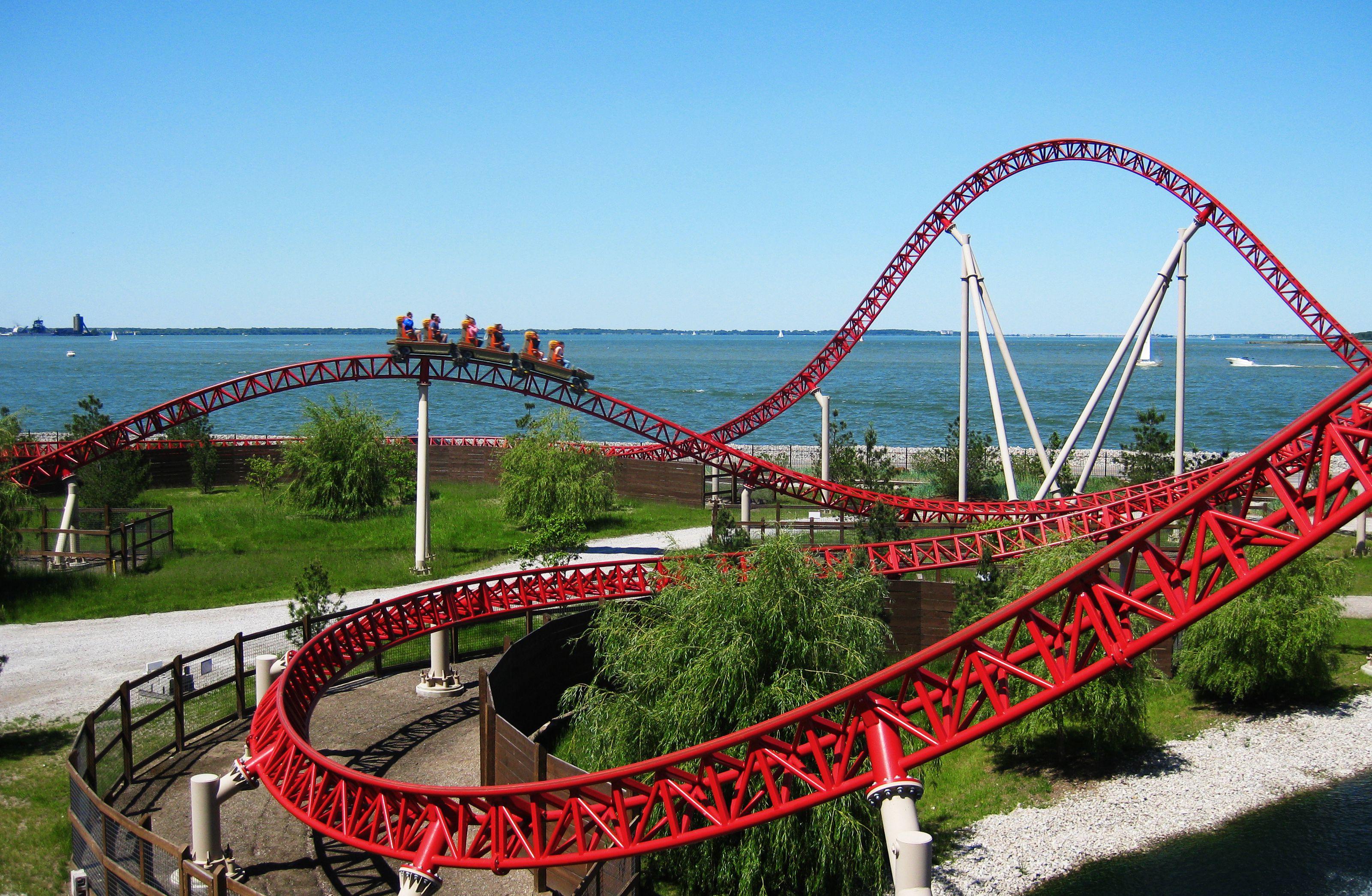 Maverick Roller Coaster Review Of Cedar Point Ride