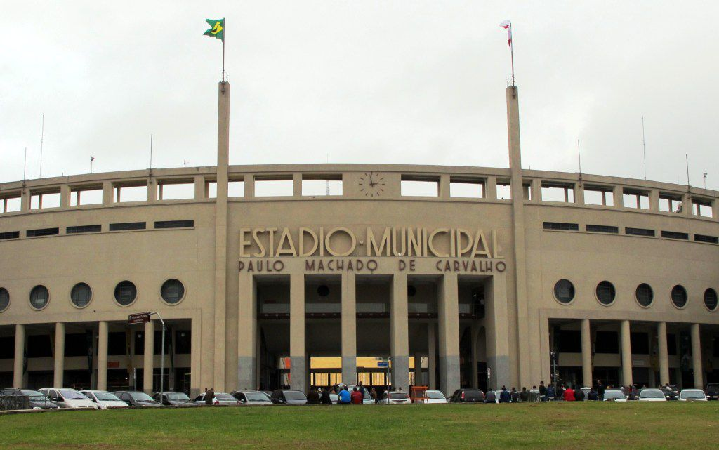 Soccer stadium museum Sao Paulo