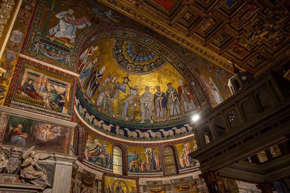Santa Maria in Trastevere, Rome Italy
