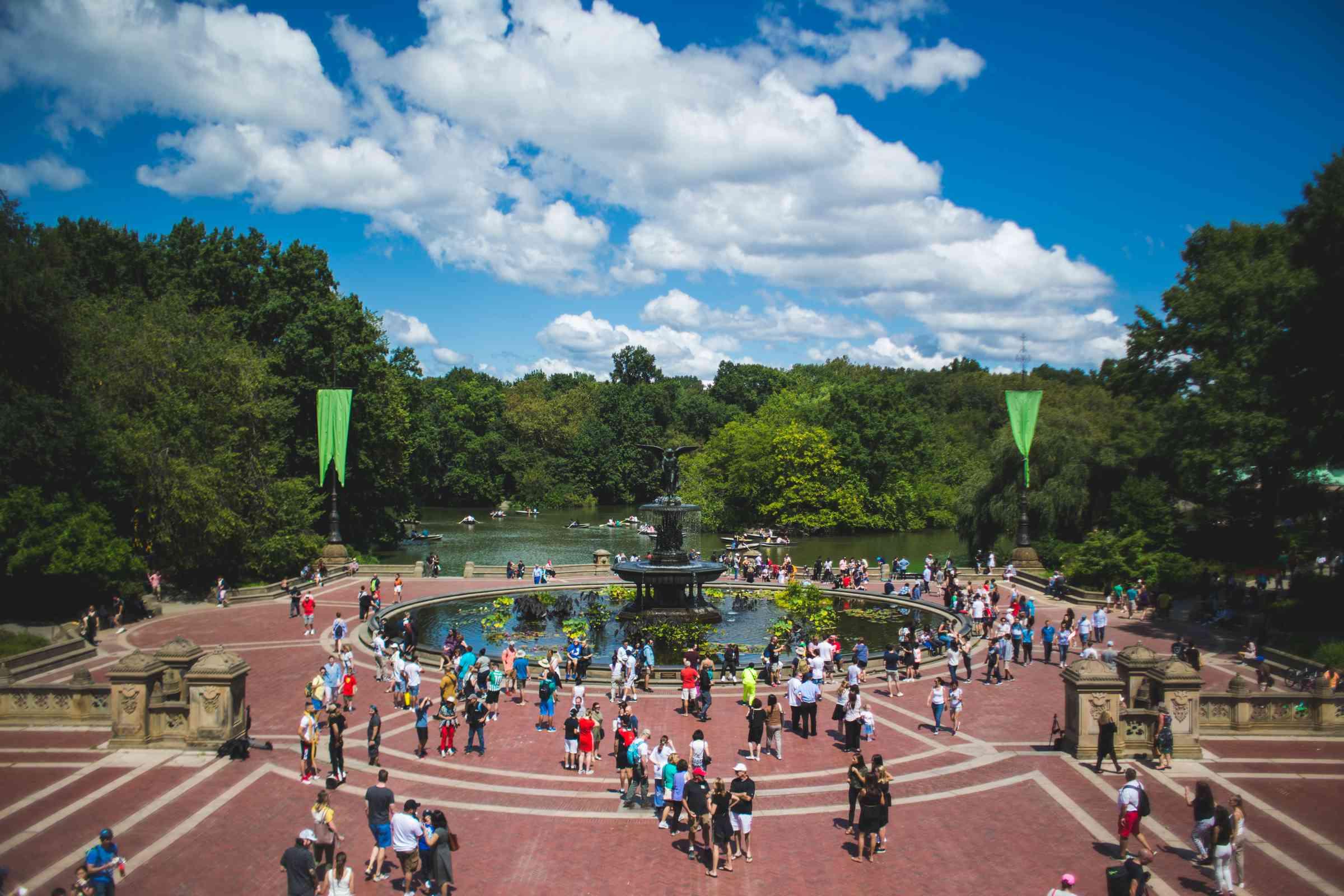 Central Park in New York City, NY