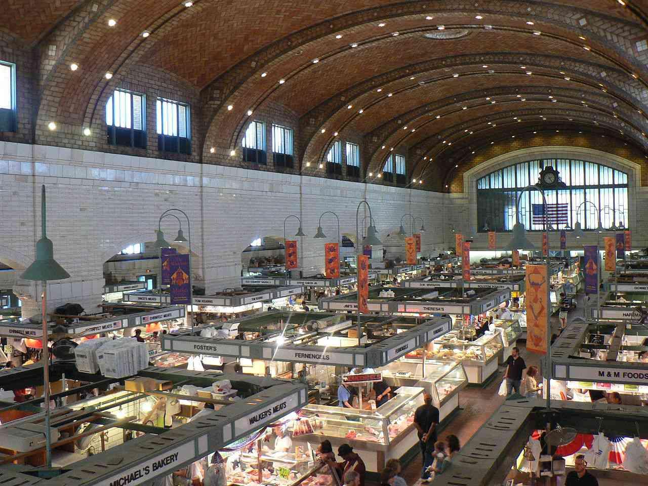 The Westside Market en Cleveland, Ohio