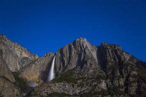 Moonbow at Yosemite Falls