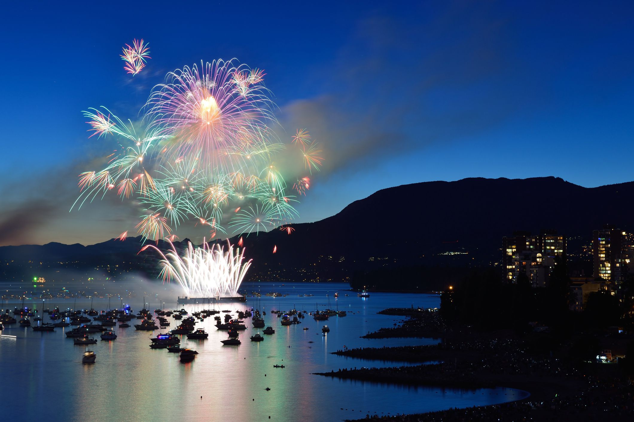 Vancouver Celebration of Light Fireworks Viewing Locations