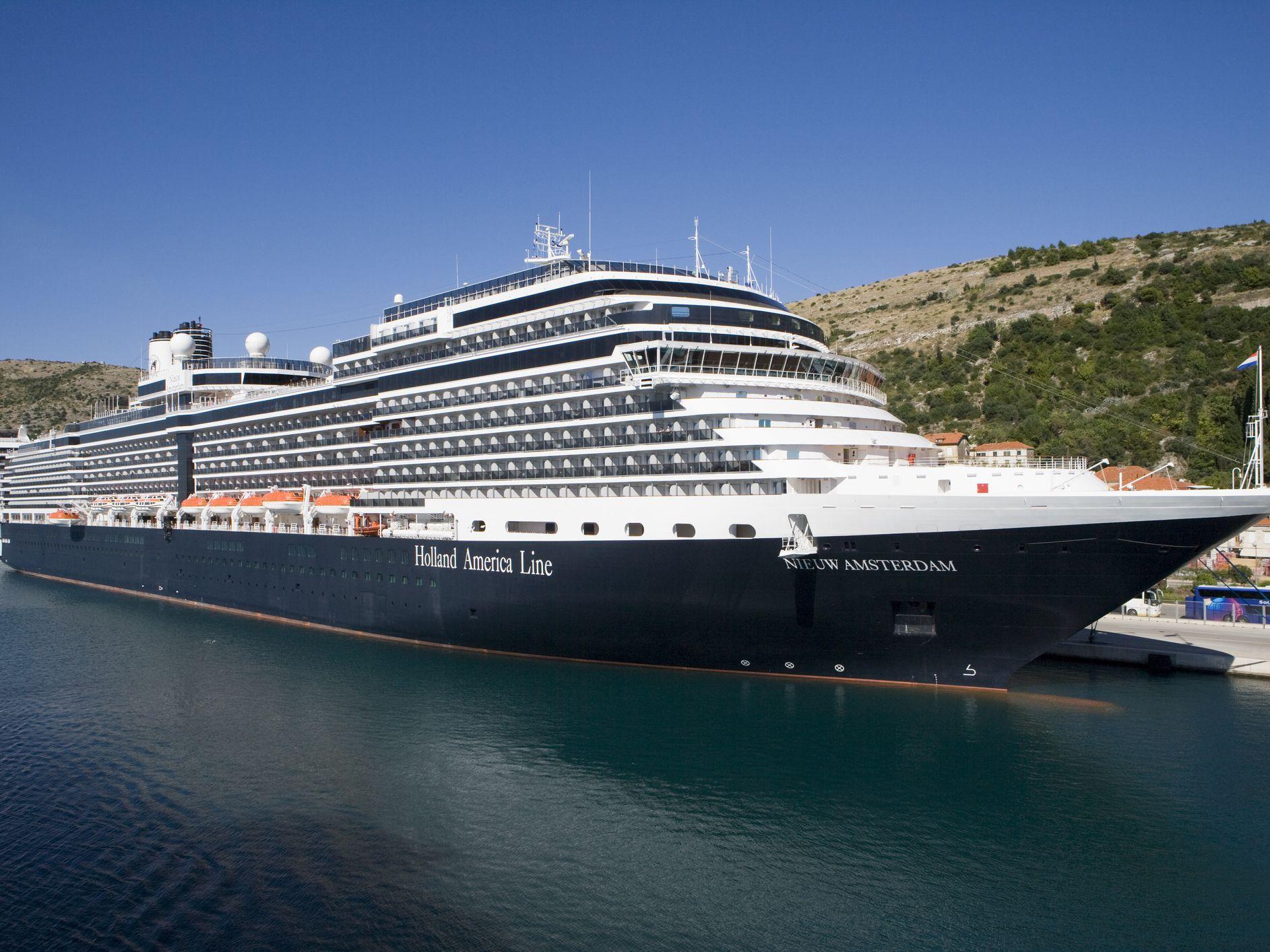 Mediterranean Cruise On The Nieuw Amsterdam