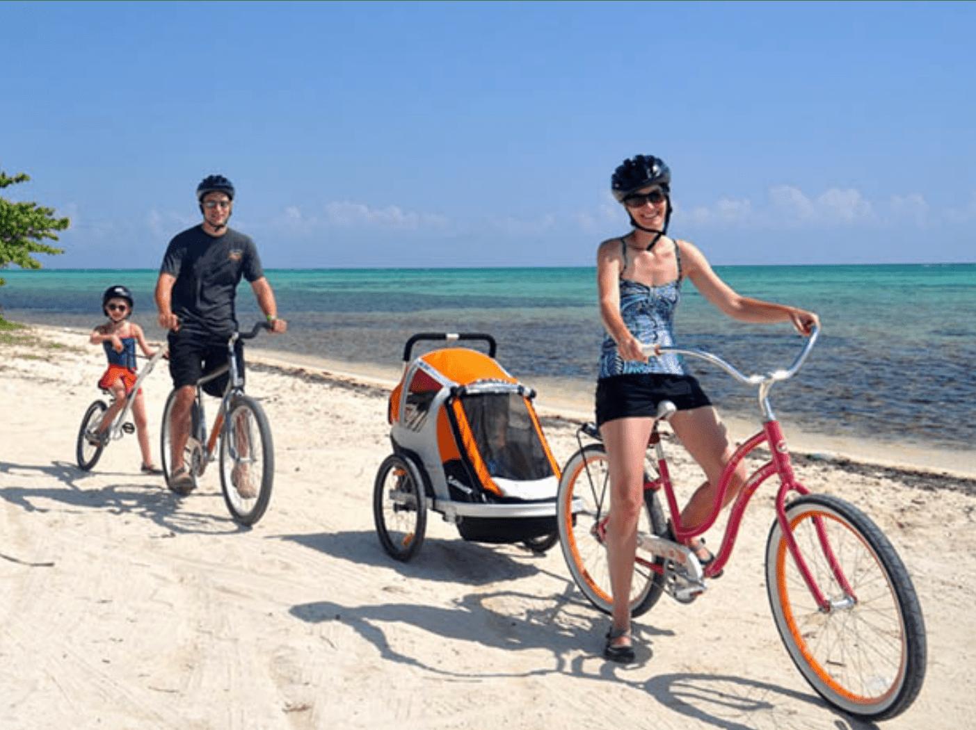 West Bay Loop bike path Grand Cayman