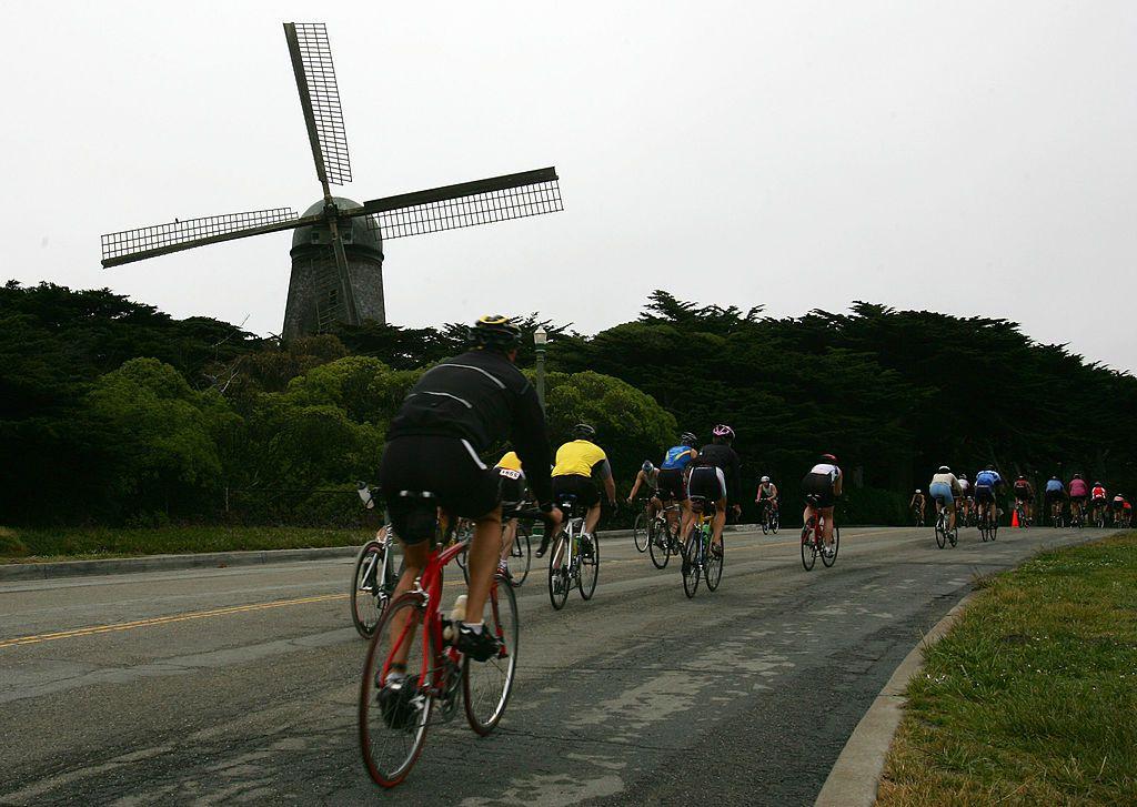 San Francisco bike riders