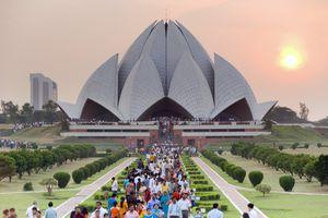 Lotus Temple, Delhi.