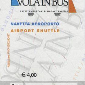 italian bus ticket