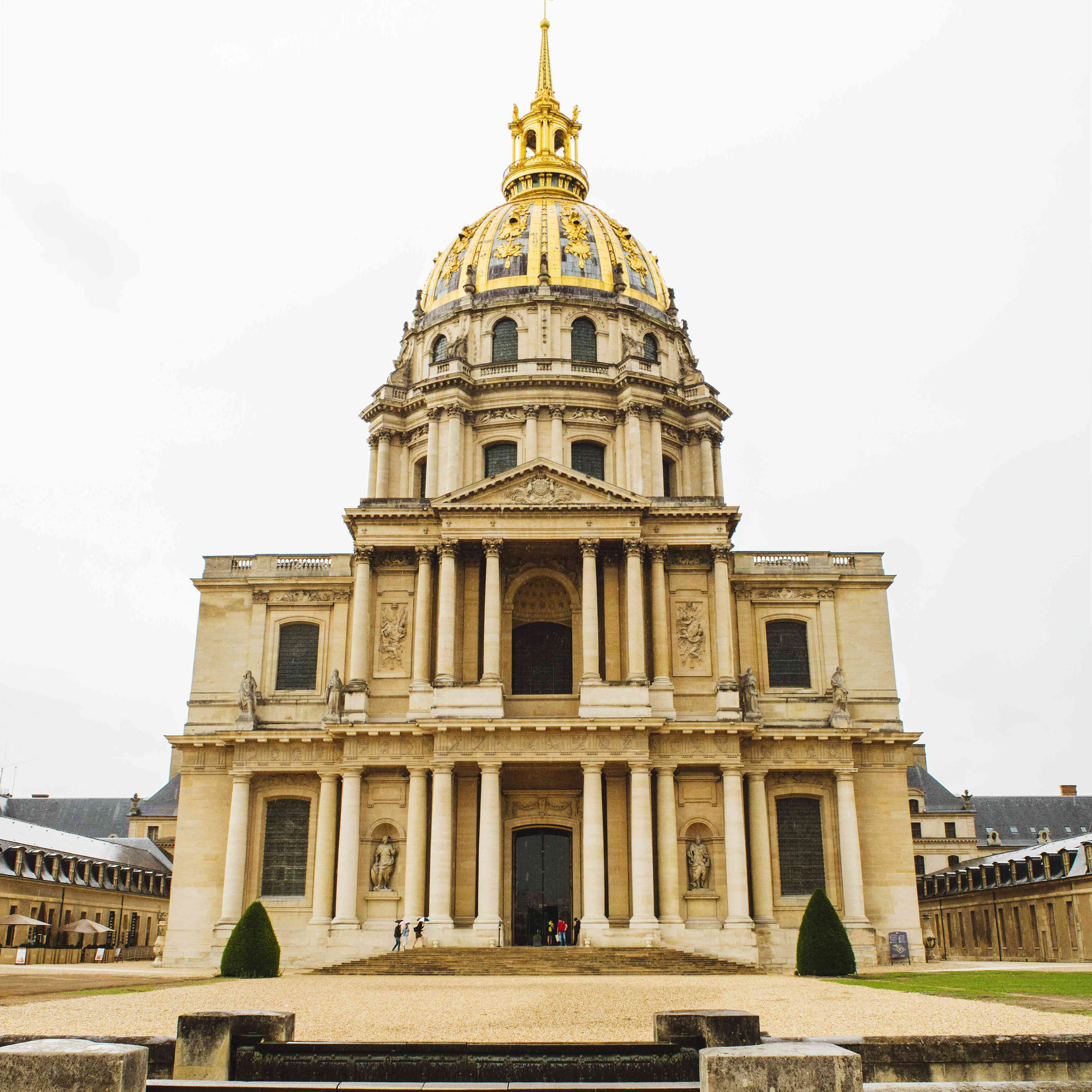 Exterior of the Les Invalides