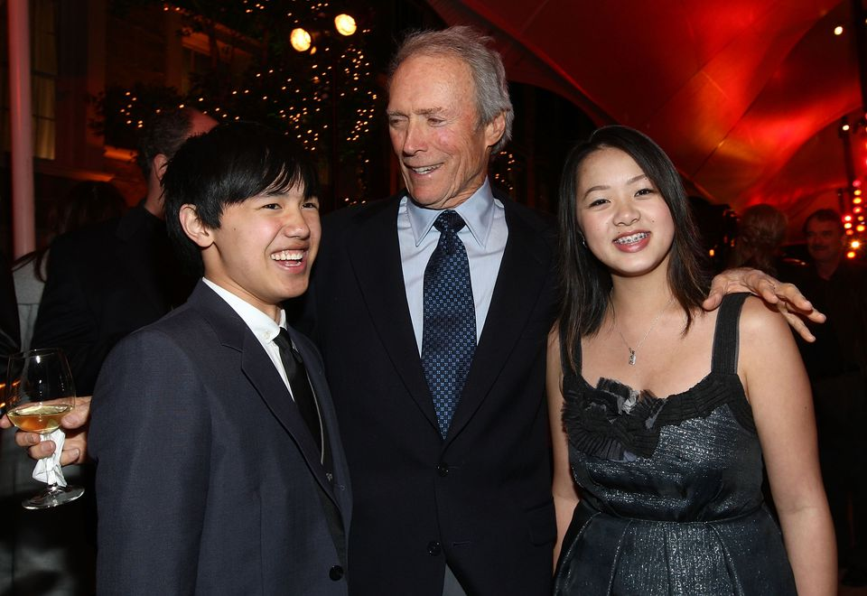 Bee Vang, Clint Eastwood and Ahney Her of 'Gran Torino'