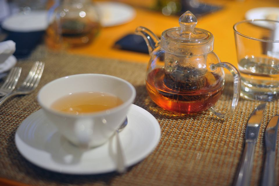 Darjeeling tea served in Mumbai.