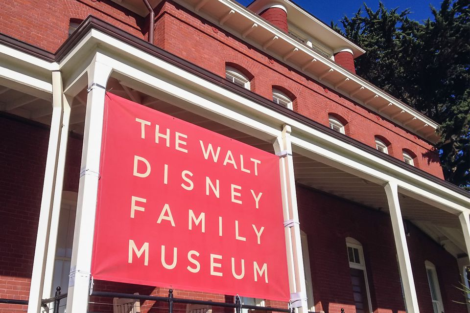Walt Disney Family Museum in Presidio, San Francisco