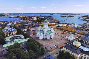Helsinki aerial, Finland