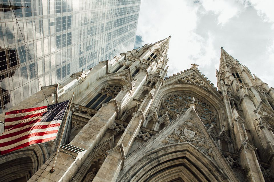 St. Patrick's Cathedral in New York City, NY
