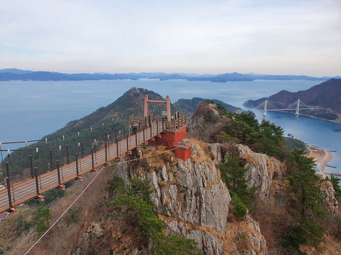 Suspension Bridge near Tongyeong