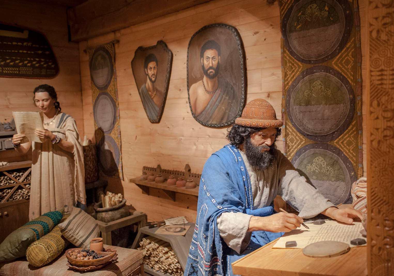 Noah and Emzara at Ark Encounter