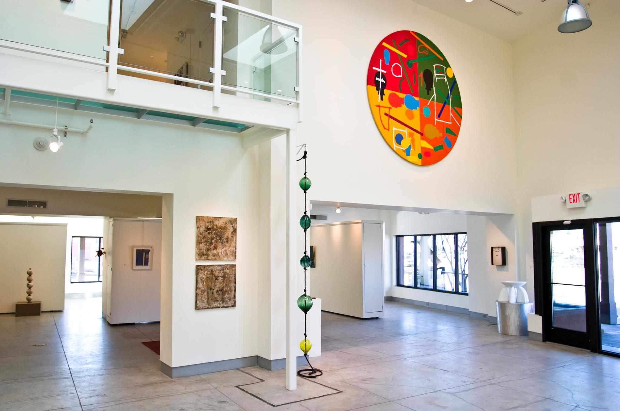 Modern interior of Zane Bennett Contemporary Art