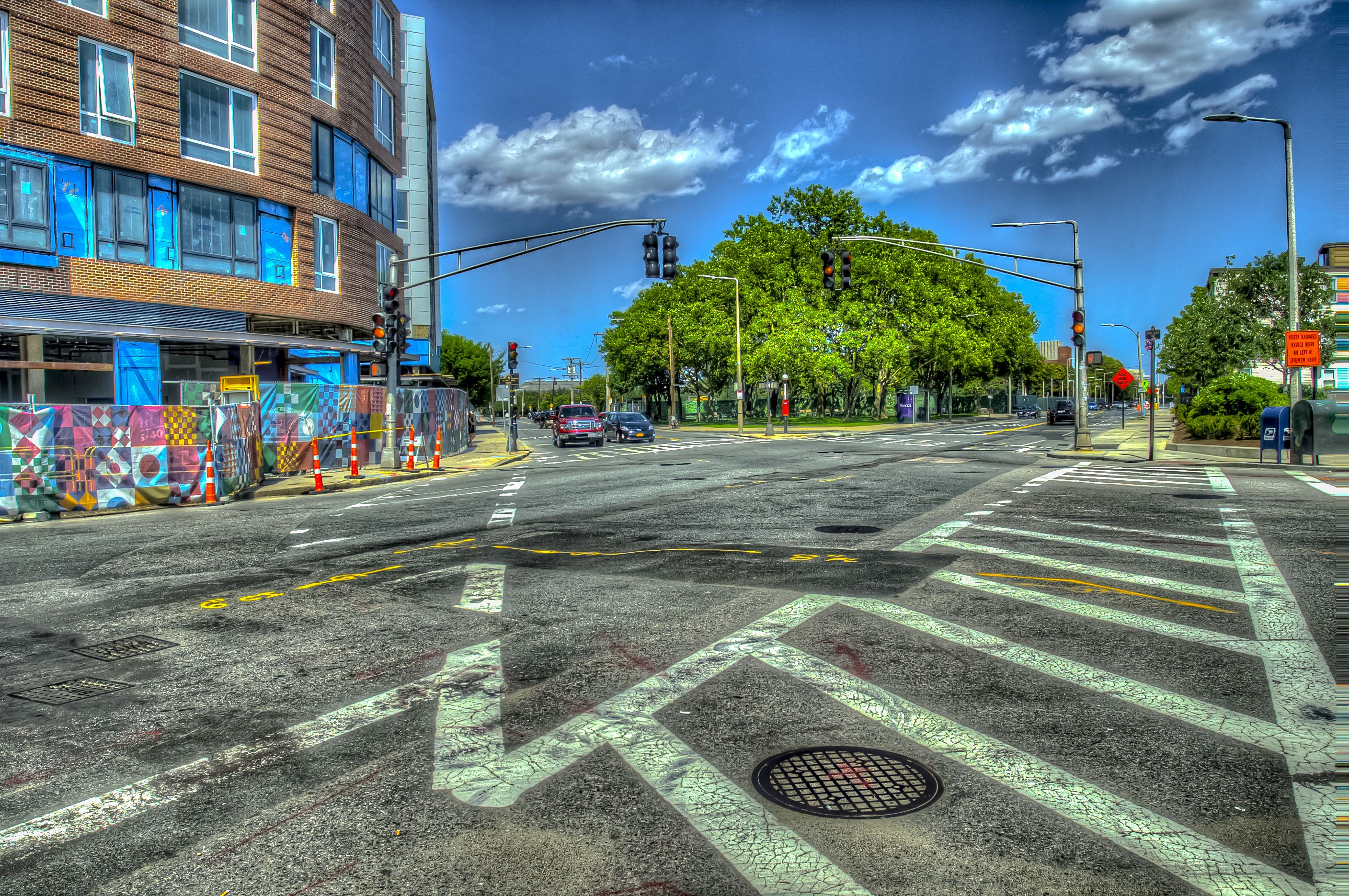 an intersection in Allston