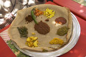 Ethiopian Food at Cafe Ibex