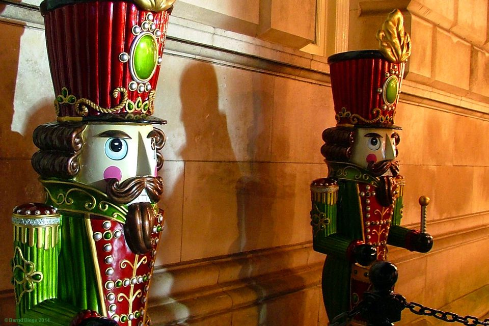 Drumming up support for Irish Christmas Markets