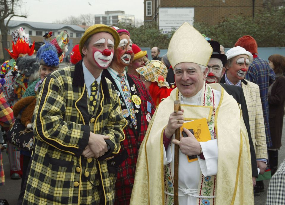 Clown's Church Service