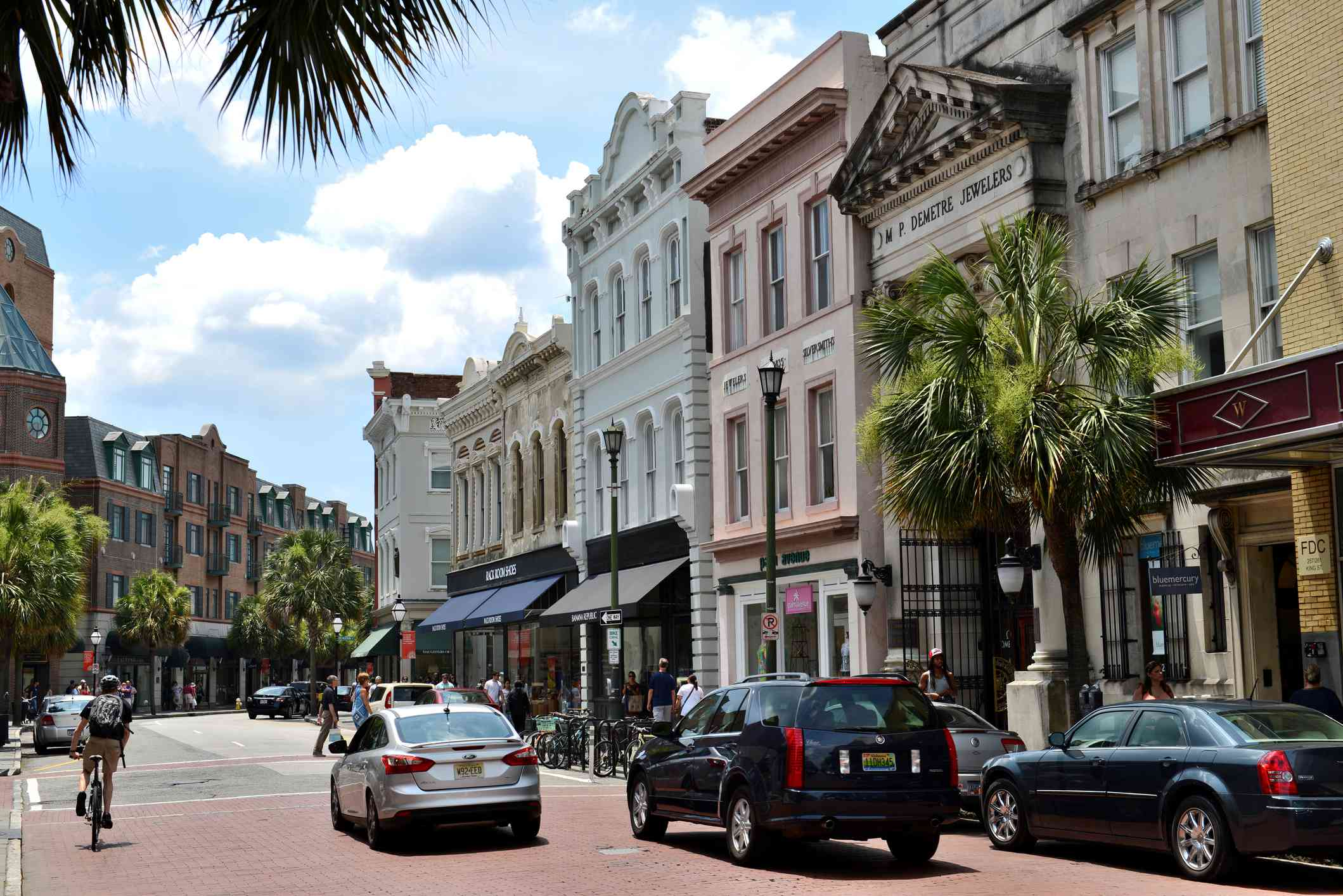 King Street en Charleston, SC