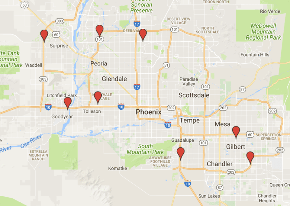 Sam s Club Stores in Phoenix Addresses Contact Info Map
