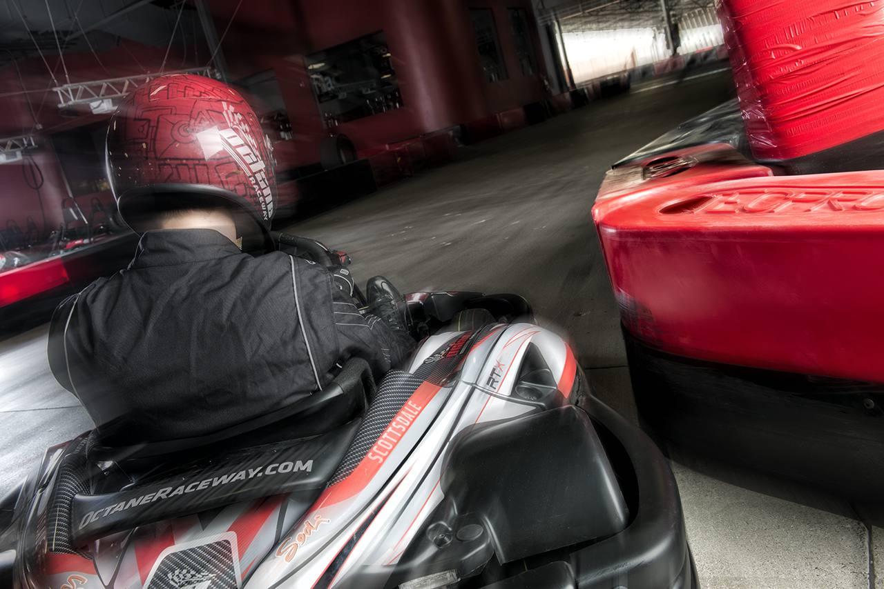 Race Kart at Octane Raceway