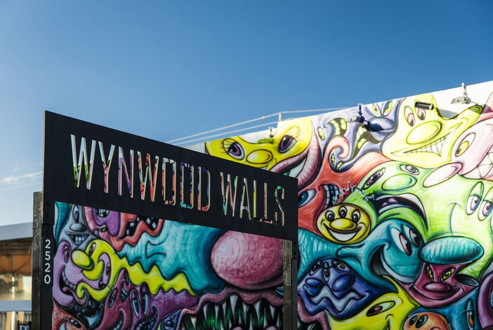 Sign at Wynwood Walls