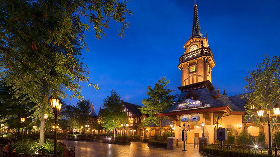 Shanghai Disneyland Peter Pan Ride
