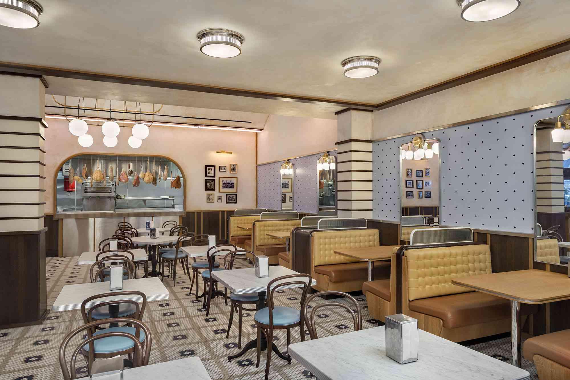 Interior del restaurante Giuseppe & Sons