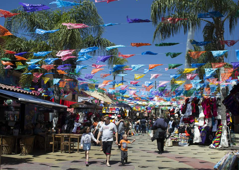Street Market in Tijuana
