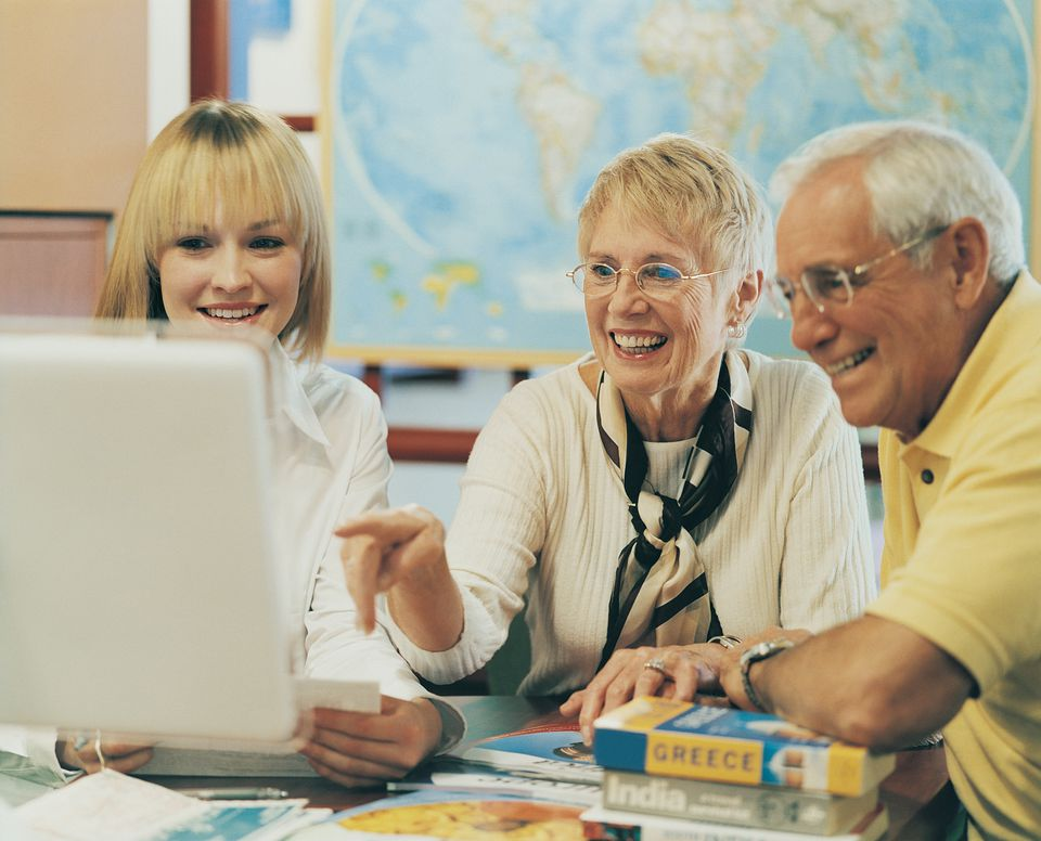 A good travel agent can help you plan a wonderful trip.
